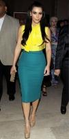 Image, kim kardashian, style, fashion, clothes, color, celebrity, famous