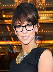 Image, jennifer love hewitt, famous, celebrity, glasses, jewelry, necklace, fashion, clothes